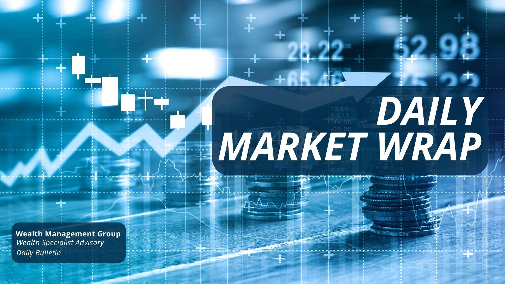 Daily market Wrap